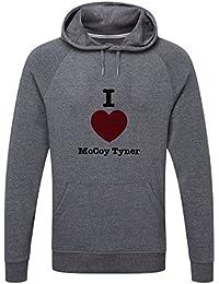 The Grand Coaster Company Love McCoy tyner Lightweight Hooded Sweatshirt