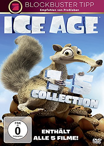 Ice Age 1-5 [5 DVDs] (6 Age Ice)