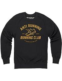 Anti Running Running Club Sweatshirt mit Rundhals, Herren