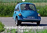 Heinkel Kabinenroller Typ 154 (Wandkalender 2019 DIN A4 quer): klein aber fein (Monatskalender, 14 Seiten ) (CALVENDO Mobilitaet)