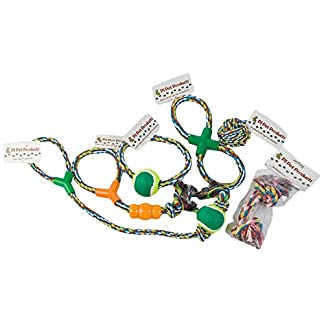 Pj Pet Products Value Pack of 6 Rope Dog Toys 7