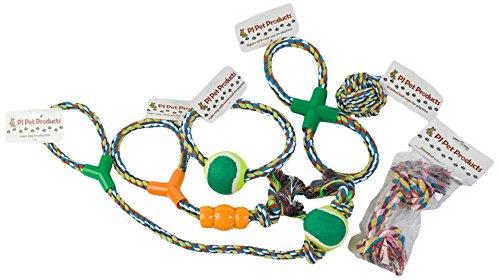 PJ Pet Products Hundespielzeug, aus Seil, Vorteilspacku… | 05060265188511