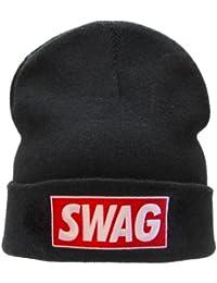 WUWI SWAG beanie hat black