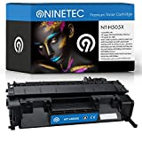 Original NINETEC NT-H505X Toner-Kartusche Black kompatibel zu HP CE505X 05X