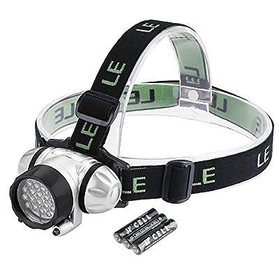 LE Superhelle LED Stirnlampe, LED Kopflampe, Kopfleuchten, leicht und superhell, ideal für Wandern, Camping, Ausflug von Lighting EVER - Outdoor Shop
