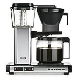 Moccamaster 59624 KBG 741 AO Filter Kaffeemaschine, Aluminium, Anthrazit