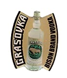 Grasovka - Bison Brand Vodka - Pin aus Metall
