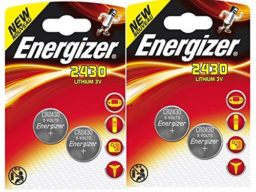Energizer - CR2430 3V / 4 unidades