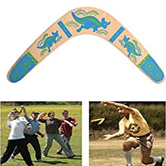 Idea Regalo - VGEBY Boomerang in Legno Classico Modulo V ad Angolo Aperto 100° Outdoor
