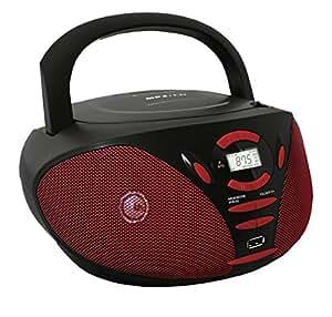 Schaub-Lorenz BB 320 Radio/Radio-réveil Lecteur CD MP3 Port USB