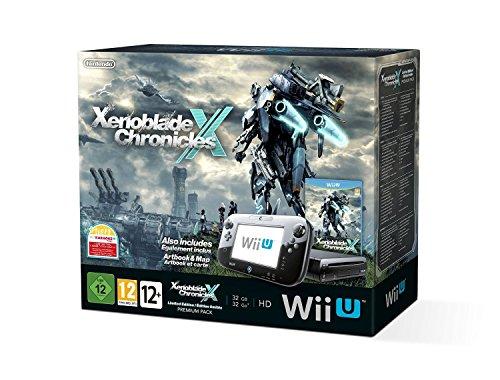 Console Nintendo Wii U 32 Go – Noire + Xenoblade Chronicles X – Edition limitée