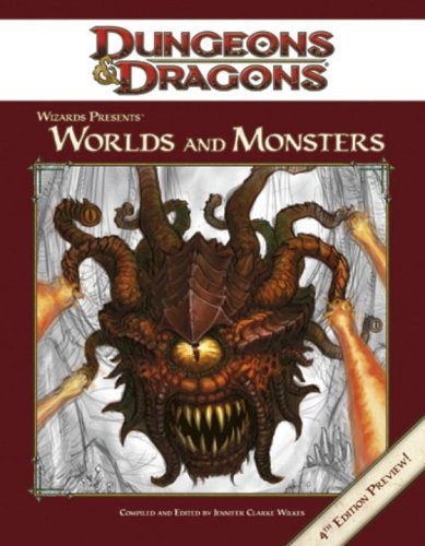 Wizards Presents: Worlds and Monsters (Dungeons & Dragons) by Jennifer Clarke Wilkes (2008-01-15)