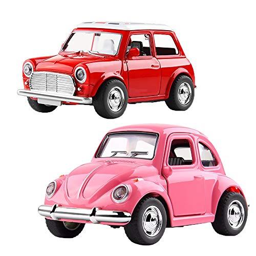tellendes Produkt Klassische Mini Diecast Modellautos Fahrzeug Spielen Spielzeug, Käfer Legierung Auto Fahrzeug Modell Geschenk Spielzeug für Jungen und Mädchen ()