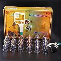 Kays Schröpfen Set 24 Vakuum-Luft-Saugnäpfe Mit Pump-Handle, Chinesische Schröpfen Therapie-Set, Medizinische... preisvergleich bei billige-tabletten.eu