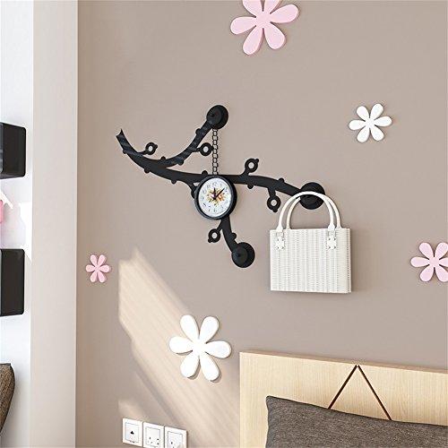 CUI- Garderoben Eisen Kunst Kleiderständer Einfache Persönlichkeit Wandbehang Dekoration Schlafzimmer Wohnzimmer Schwarz