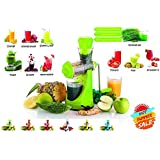 Imaging Solutions Fruits & Vegetable Juicer With Waste Collector, Steel Handle, Manual Juicer, Natural Fruit Juicer (Colour Vary )
