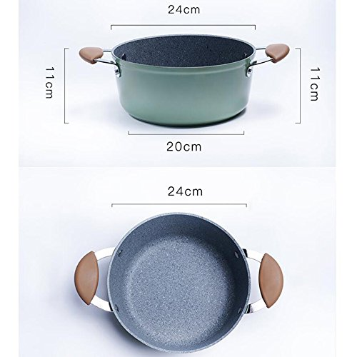 LIAN Soup pot stew pot 24cm Maifan Stone Induction Cooker Soup Nonstick Thicken noodles Mother's Day Father's Day gift