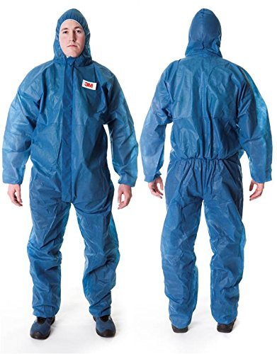 3M Schutzanzug 4500, Kategorie I, Größe L, Farbe Blau