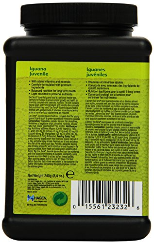Exo Terra Soft Pellets Juvenile Iguana Food, 240 g 4
