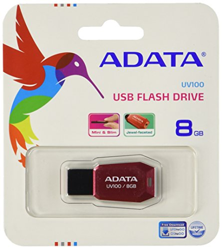 ADATA 8GB UV100 8GB USB 2.0 Rosso USB flash