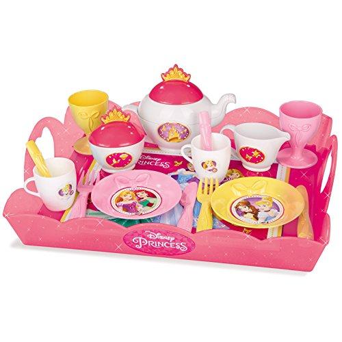 Kaffeetasse L/öffel Gabel Teller Teekanne Kinder Spielk/üche K/üchenspielzeug aus Holz Tee Tasse f/ür Kinder Teeparty Rollenspiel L/öffel Mini Tee Tablett