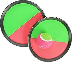 Jeu de scratch ball 2 raquettes 20 cm + balle