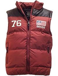 Soulstar Laxus Mens Bodywarmer Padded Sleeveless Jacket Gilet Vest