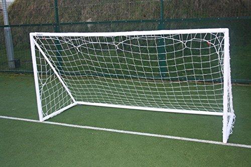 Mitre Tragbares Fußballtor Aus PVC-Plastik Weiß, 10 x 6 Feet