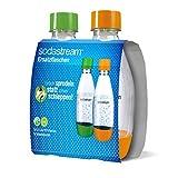 SodaStream Petfles 0,5 liter duopack van onbreekbaar kristalhelder PET en vrij van BPA! Ideaal voor school, sport, vrije tijd