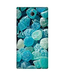 Green Candy Printed Back Cover Case For Sony Xperia Z2