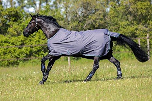 Horseware Pferdedecke Amigo Super Hero 1200d Light 50g | Farbe: excal blue | Größe: 145 cm 6.6