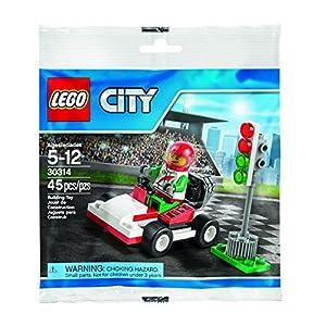 LEGO CITY 30314 Go Kart Racer in BORSA novità 2015 NOTIZIE PILOTA Formel 1 0739303828997 LEGO