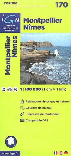 TOP100170 MONTPELLIER/NIMES 1/100.000
