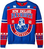 Klew NFL Baumwolle Retro Pullover xl New England Patriots