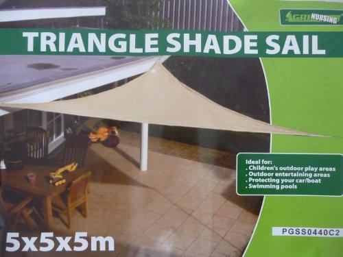point-garden Triangolo Di Sole Protezione Sole Vele Ombra 5x5x5 m