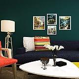 huangyahuigreen Seide Vliestapete Tapete Farbe Kragenhalskette schlichtes Schlafzimmer Wohnzimmer Restaurant Hintergrund Tapete dunkelgrün