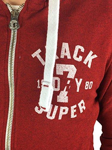 Superdry Herren Kapuzenpullover Trackster Lite Ziphood XHE
