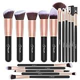 Makeup Brushes BESTOPE 10PCs Professional Make Up Brushes Foundation Brush Powder Brush Make