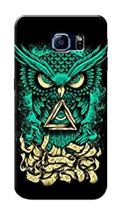 HACHI Premium Printed Cool Case Mobile Cover for Samsung Galaxy S6 Edge