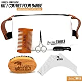 BARBER TOOLS  Kit / Set / Coffret d'entretien et de soin...