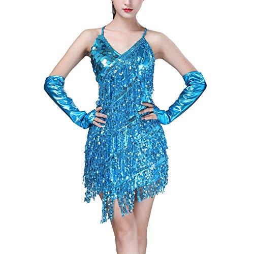 Gyratedream Latin Tanzkleid Damen Wettbewerb Kostüme Ballsaal Salsa Samba Rumba Tango Karneval Tanzen - Salsa Kostüm Für Den Wettbewerb