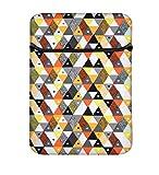 Snoogg Schutzhülle für Laptops, gepolstert, 8 Zoll / 20,3 cm, Aztekenmuster, Orange/Grau/Gelb