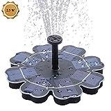 Solar Teichpumpe 2,5W Φ7.5' Solar Teichfontäne Solar Pumpen,Springbrunnen Wasserspiel mit...