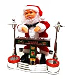 Unbekannt Musik Rockstar Weihnachtsmann Inklusive Ambe Batterien N01