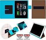 reboon Hülle für Allview Viva Q10 Pro Tasche Cover Case Bumper | in Braun | Testsieger