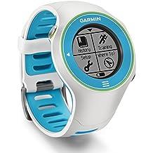 Garmin Forerunner 610 GPS Running Watch with Heart Rate Monitor - White/Blue/Green
