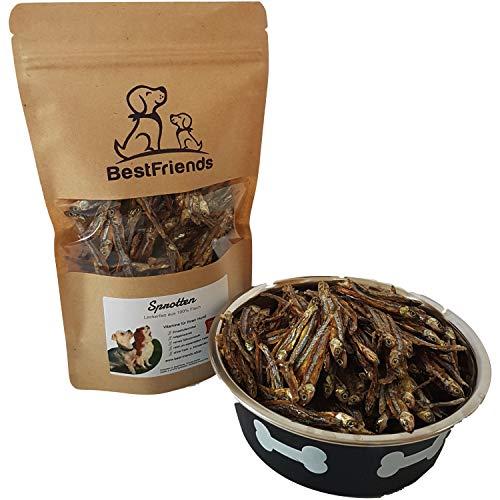 BestFriends Sprotten - ca. 500 Stück getrocknete Fische - Hundeleckerlies - natürlich gesund