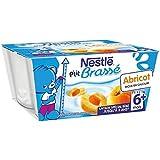 Nestle p'tit brassé abricot 4x100g 6 mois - ( Prix Unitaire ) - Envoi Rapide Et Soignée