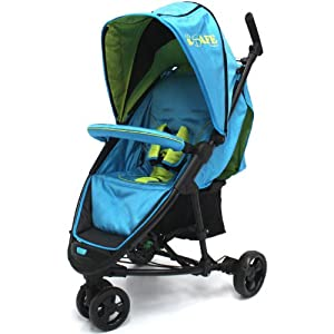 iSafe Visual 3 Apple Slice Three Wheeler Stroller from iSafe Visual 3