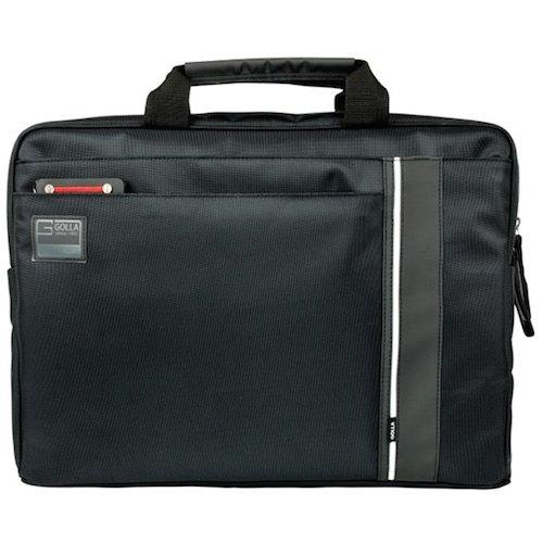 Golla Laptop Bag Metro Style - ELMO - Size 16 Zoll - Schwarz G1445 Tasche für Notebooks bis 16 Zoll